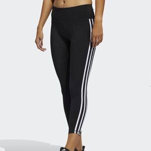 Adidas Believe This 2.0 3-Stripes 7/8 Tights